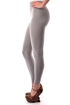 9278bb401561d Designer Polyamide/Elastane Womens Colourful Leggings, Grey, One Size - UK  (8-14): Amazon.co.uk: Clothing