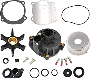 Water Pump Repair Kit,for Johnson Evinrude V4 V6 V8 85-300HP Outboard Motor Parts Replaces: PN 5001594 395062 434421 Sierra Marine 18-3392