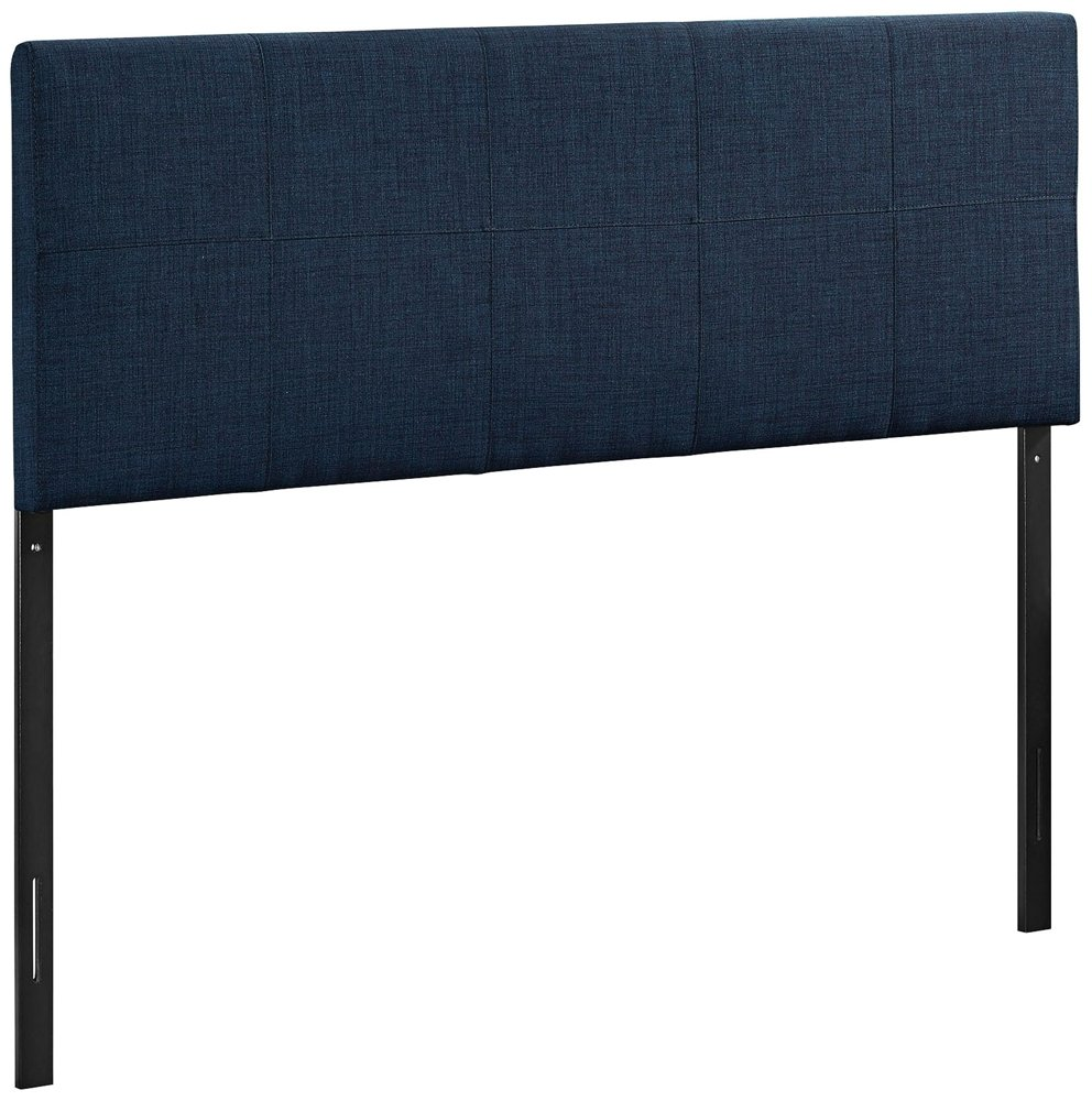 Modway Oliver Fabric Headboard - Queen - Navy