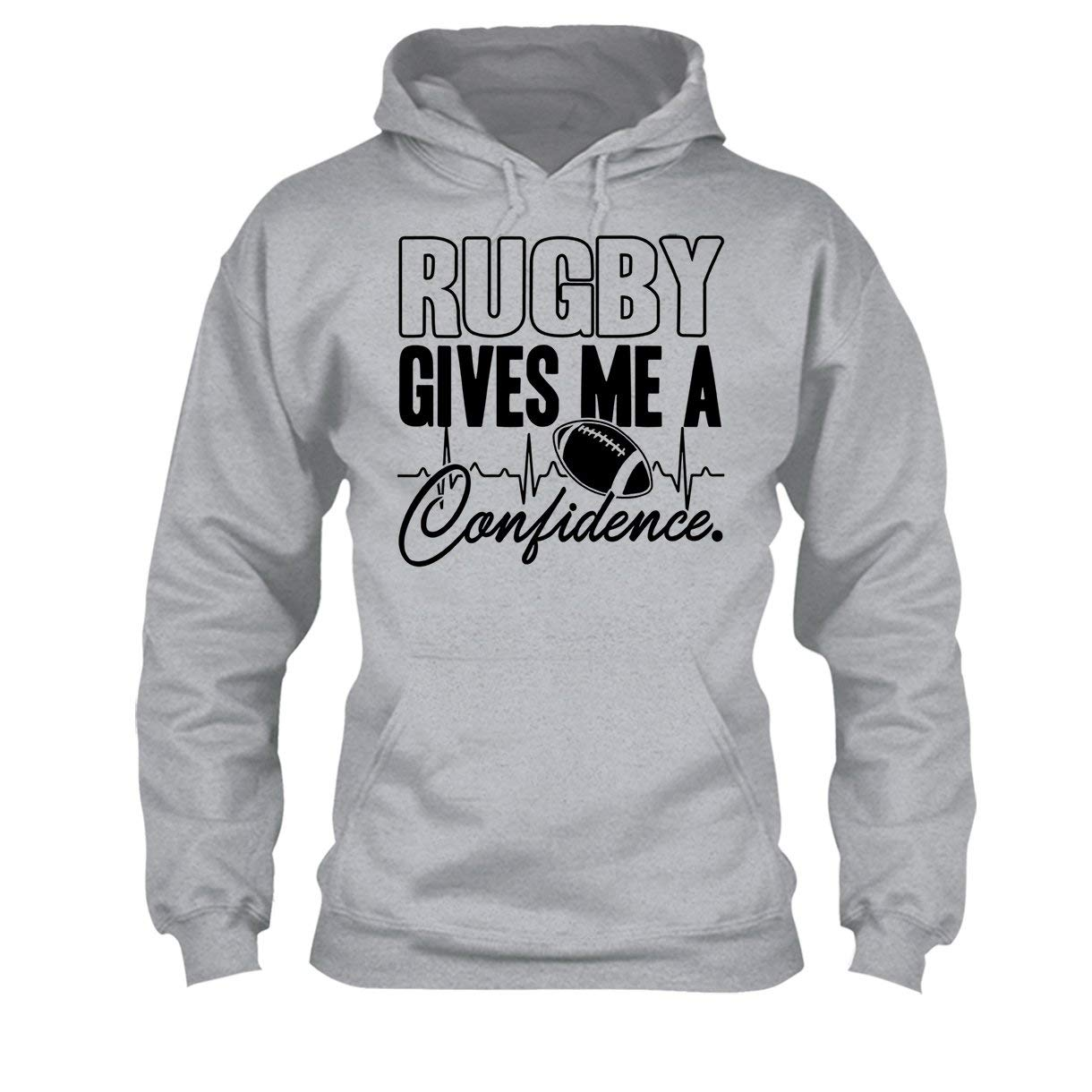 Cool Sweatshirt Hoodie Rugby Give Me A Confidence Tee Shirt