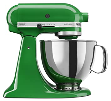 Charmant Amazon.com: KitchenAid KSM150PSCG Artisan Series 5 Qt. Stand Mixer With  Pouring Shield   Canopy Green: Electric Stand Mixers: Kitchen U0026 Dining