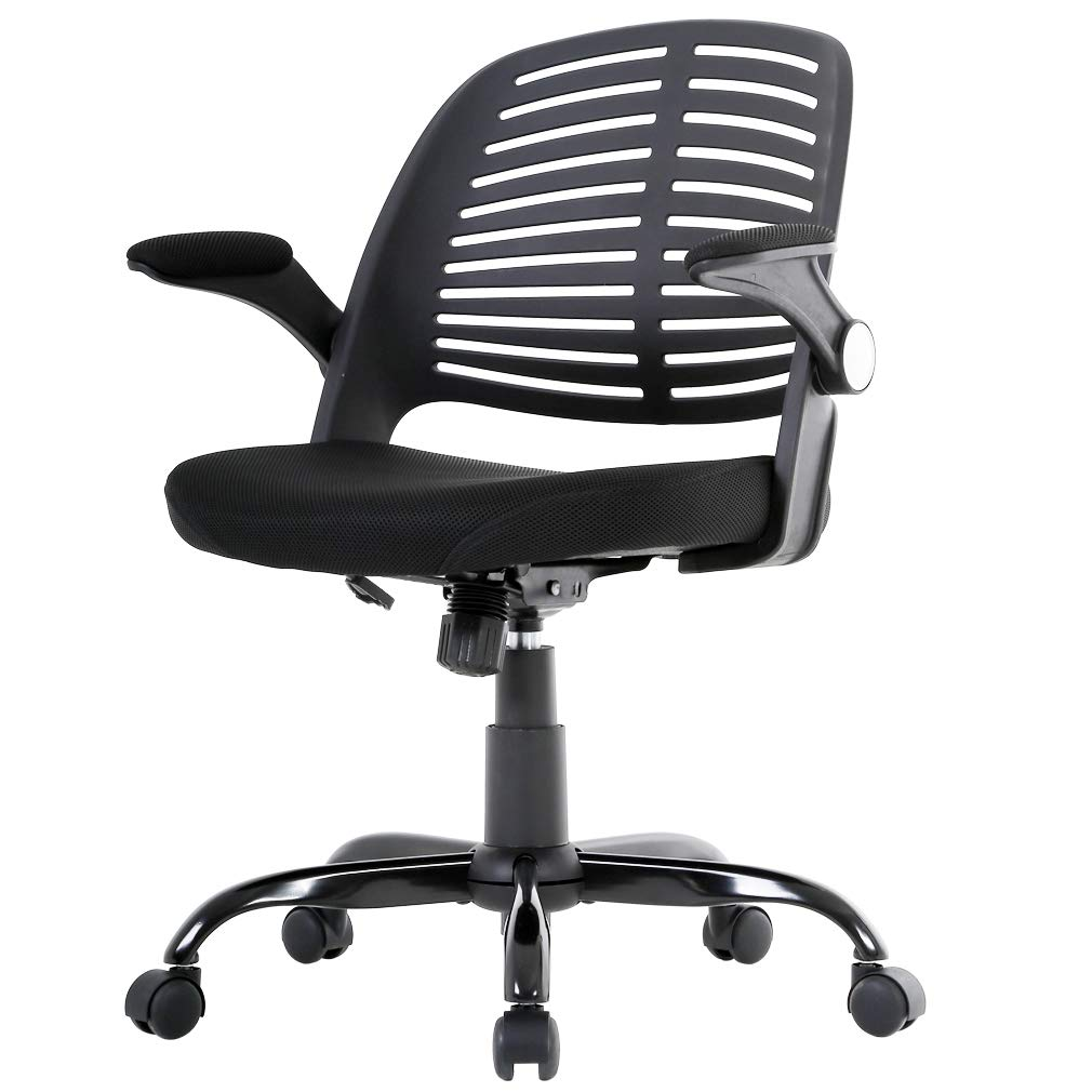 BestOffice Mesh Office Chair Desk Task Computer Chair W/Metal Base
