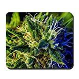 weed mouse pad - CafePress - Glistening Trichomes - Non-slip Rubber Mousepad, Gaming Mouse Pad