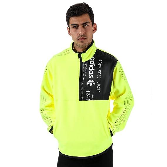 official supplier delicate colors outlet boutique adidas Originals Sweat Alexander Wang Bleach Jaune Homme ...