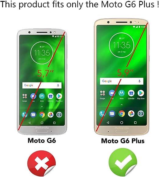 NALIA Funda Integral para Motorola Moto G6 Plus, Carcasa Completa ...