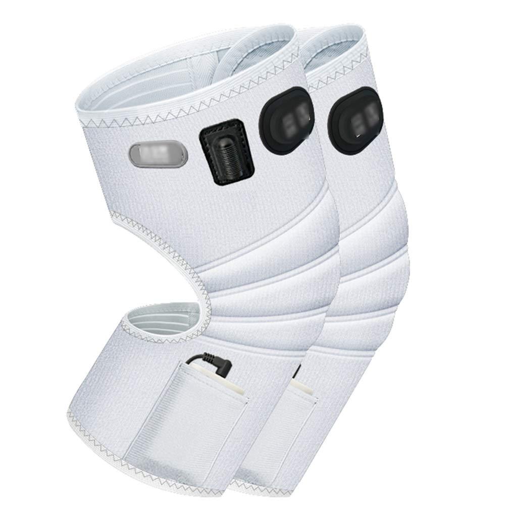 限定価格セール! ZXQZ Kneepad電気暖房膝パッド男性と女性のための暖かい寒い四季の炎症膝のマッサージ熱い圧縮マッサージャー ニーパッド (色 : 黒) B07L4PQ3W3 : 白 黒) (色 白, KOMEHYO ONLINESTORE:1d24d0a4 --- a0267596.xsph.ru