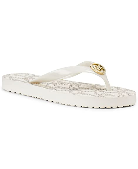 high fashion cheapest price so cheap Michael Kors Jet Set Mk Rubber Flip Flops