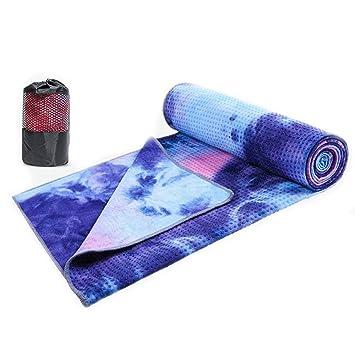 Luckyin Toalla Yoga Mat Microfibra Bikram Toalla de Yoga ...