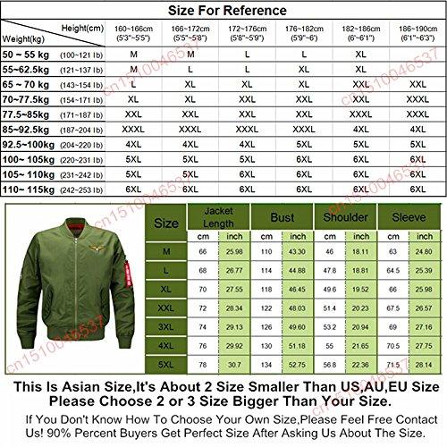 Amazon.com: Military Style Bomber Jacket Men Mens Jackets And Coats Militar Jackets For Men Chaqueta Cazadoras Hombre Veste Homme.DA02: Clothing