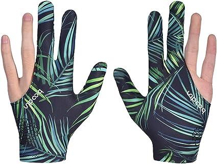 CUESOUL 10pcs//set 3 Finger Billiards Gloves Snooker Cue Gloves