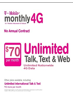 Amazon com: T-mobile $50 Prepaid Refill Card Monthly Plan