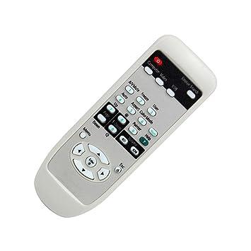EPSON - Mando a Distancia para proyector EPSON EMP-821 EMP-83 EMP-1700 EMP-1705, Color Blanco