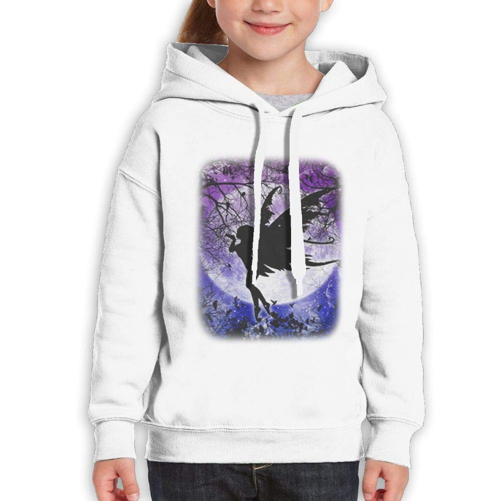 Yishuo Boys & Girls Limited Edition Leisure Travel Hoodie S White