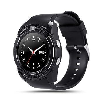 QTEC Reloj Inteligente Reloj con Pantalla táctil Bluetooth ...