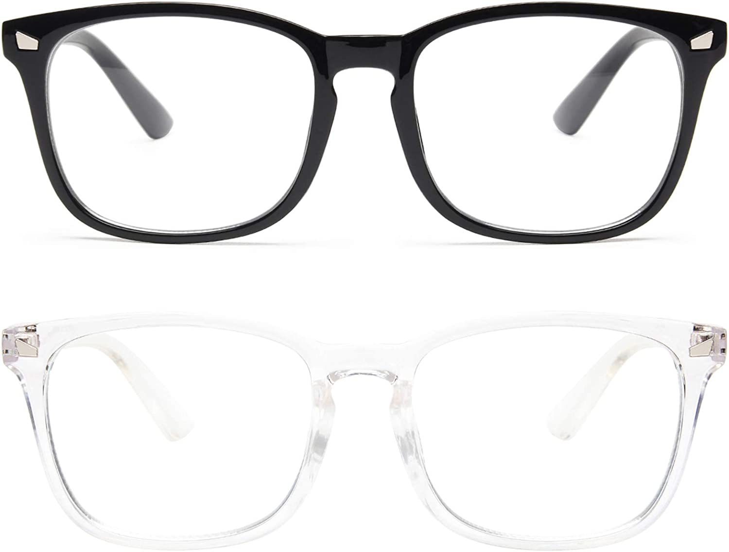 Livho  2 Pack Clear lens Blue Light Blocking Glasses $12.73