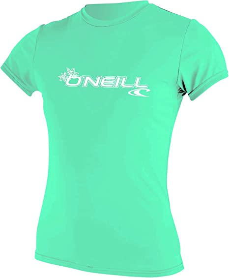 ONEILL WMS Basic Skins Short Sleeve Sun Shirt Camisa, Mujer: Amazon.es: Deportes y aire libre