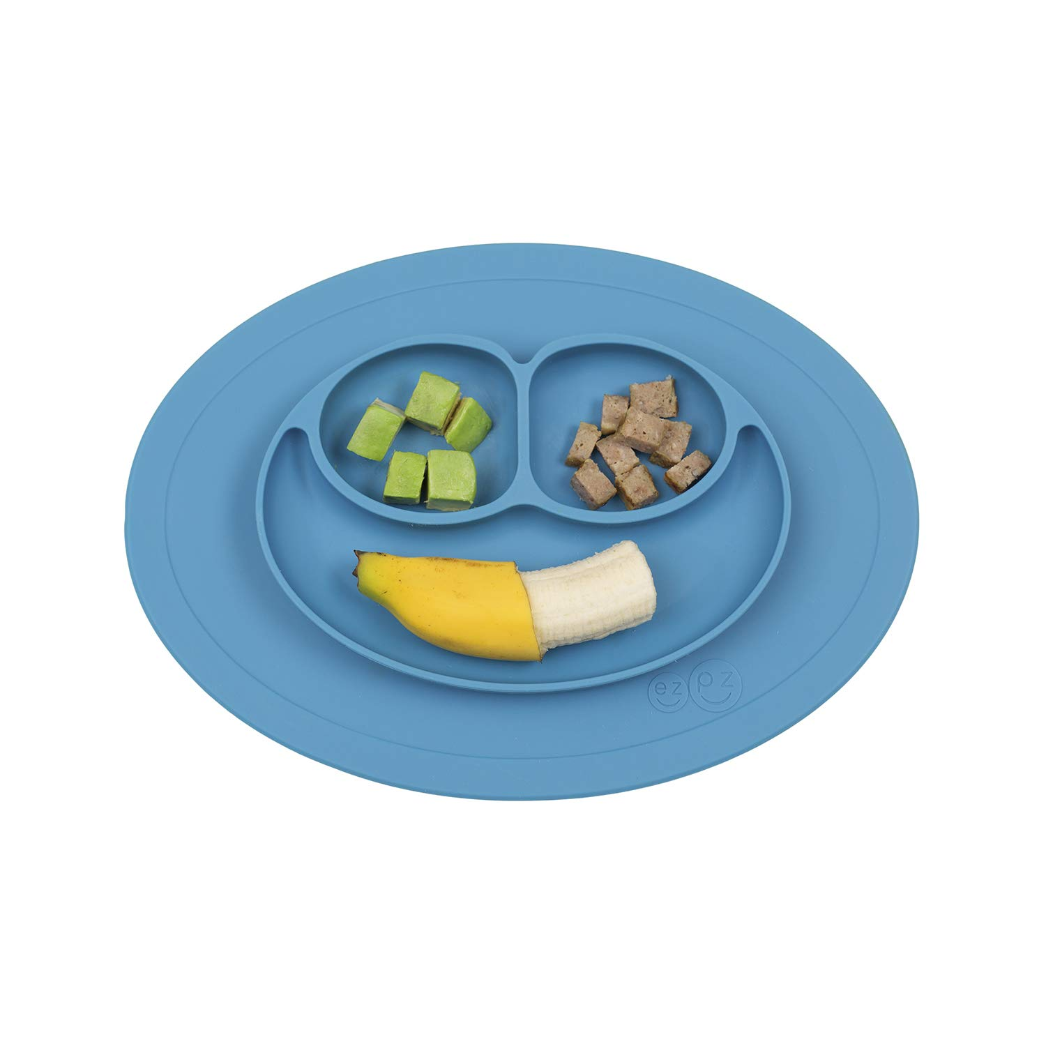 Silicone Baby Toddler Placemat Kid Happy Mat Suction Table Snack Meal Food Tray