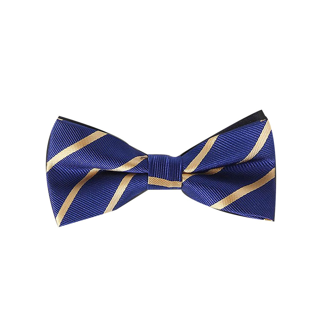 116890015e8f Amazon.com: Formal Neckwear Party Wedding Mens Solid Silk Bow Ties for Men  Accessories Butterfly Cravat Black: Clothing