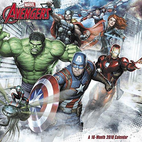 2018 Marvel's Avengers Assemble Wall Calendar (Mead)