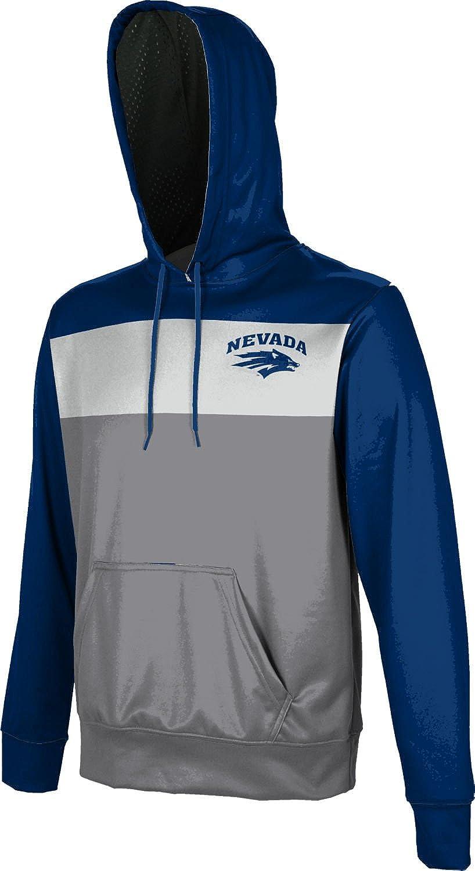 University of Nevada Mens Pullover Hoodie Prime School Spirit Sweatshirt
