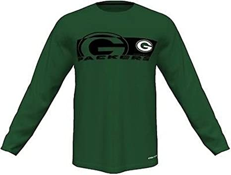 finest selection 22ab9 5f89a Amazon.com : Green Bay Packers NFL Mens Long Sleeve ...