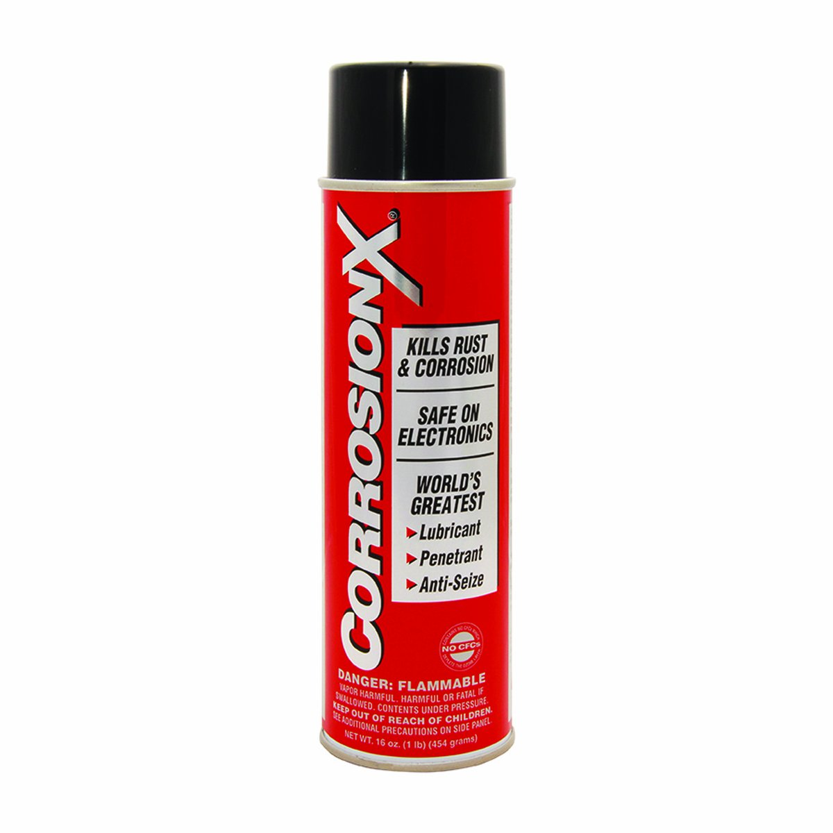 Corrosion-X 90102 Anti-Corrosion and Lubricant, 16-Ounce, Aerosol
