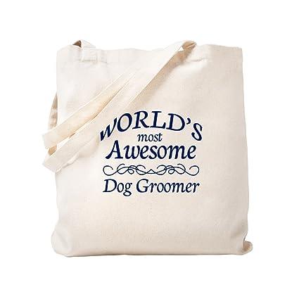 7c736a4b7e0 Amazon.com: CafePress - Dog Groomer - Natural Canvas Tote Bag, Cloth ...
