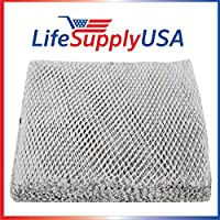 2 Pack Humidifier Water Panel Evaporator Filter fits Aprilaire April Aire #10 10 500 500A 500M 550 550A 558 110 by LifeSupplyUSA