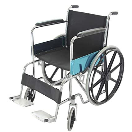 DPPAN Drive Medical Transport Silla de ruedas Reposapiés de elevación de hierro robusto, plegable y