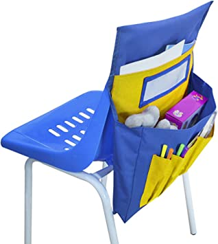 Amazon Com Chair Pockets Chair Back Organizer Neatseat Classroom Chair Organizer Oversized Name Tag Card Seat Sacks Chair Bag Pocket Chart Chair Storage Chairback Buddy Classroom Daycare Seatback Stuff Storage Office Products