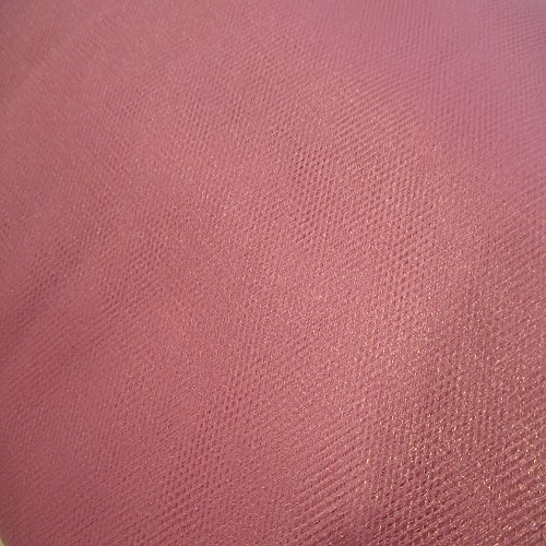 Dusty Rose Tulle - Dusty Rose C07 By the Bolt Tulle 40 Yards 54