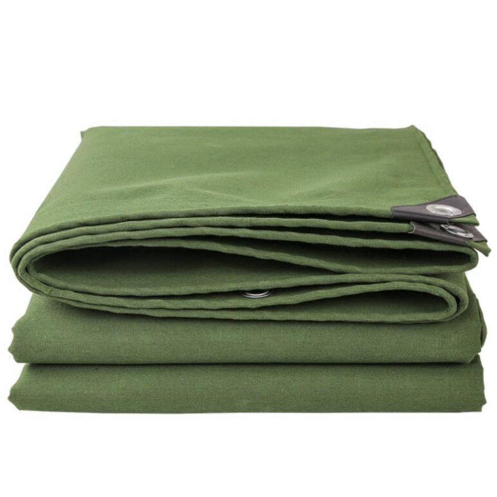 テントの防水シート 厚いリノリウムの屋外の布\雨の布\シリコーンのキャンバス\トラックカバー\防水布\防水日焼け止めのテント\防雨布400g\㎡(厚さ0.7MM) それは広く使用されています (色 : アーミーグリーン, サイズ さいず : 4*7m) B07D226KC5 4*7m|アーミーグリーン アーミーグリーン 4*7m