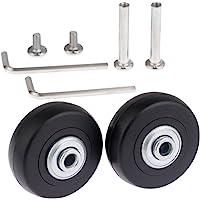 Set de 2 ruedas de repuesto para maleta
