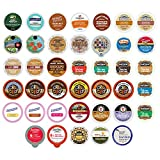 Flavored Coffee Single Serve Cups For Keurig K cup Brewers Variety Pack Sampler (40 Count)