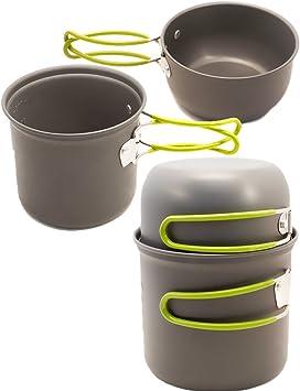 OUTDOOR SAXX® - Batería de cocina de viaje de 3 piezas ...