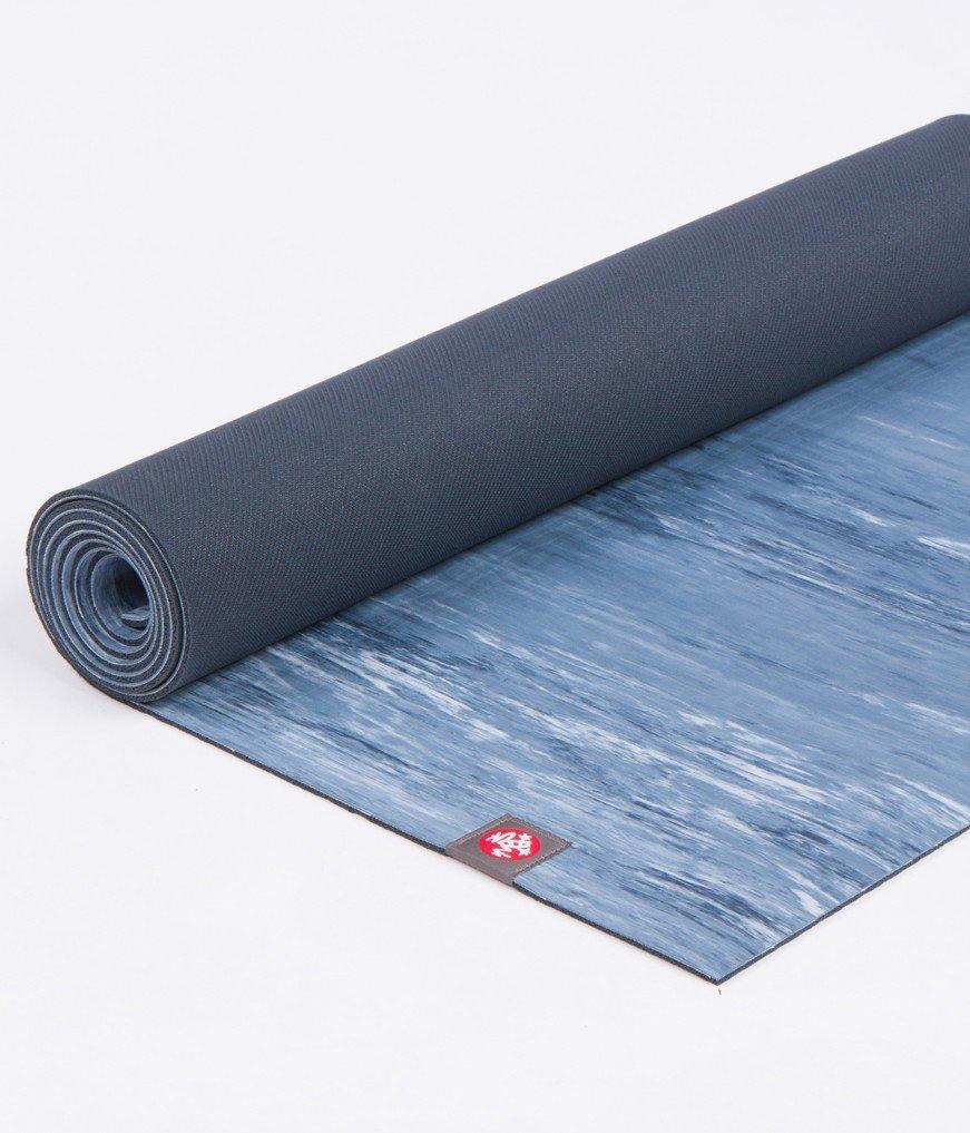 Manduka eKO - alfombrilla de yoga Lite 4 mm azul mármol ...