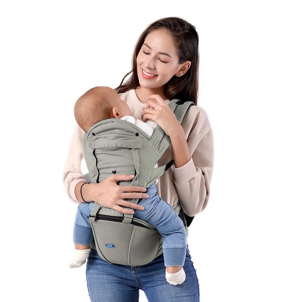 7749e29c3d6 Amazon.com   All-in-One Baby Carrier with Detachable Hip Seat ...