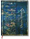 Faszinierende Handschriften Monet Seerosen, Briefe an Morisot - Notizbuch Groß Liniert - Paperblanks
