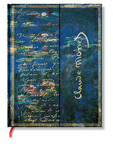Monet - Water Lilies, Lettertomorisot Journal: Lined Ultra (Embellished Manuscripts Collection)