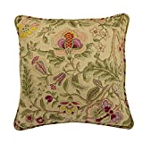 WAVERLY Imperial Dress Decorative Pillow, 18''x18'', Antique