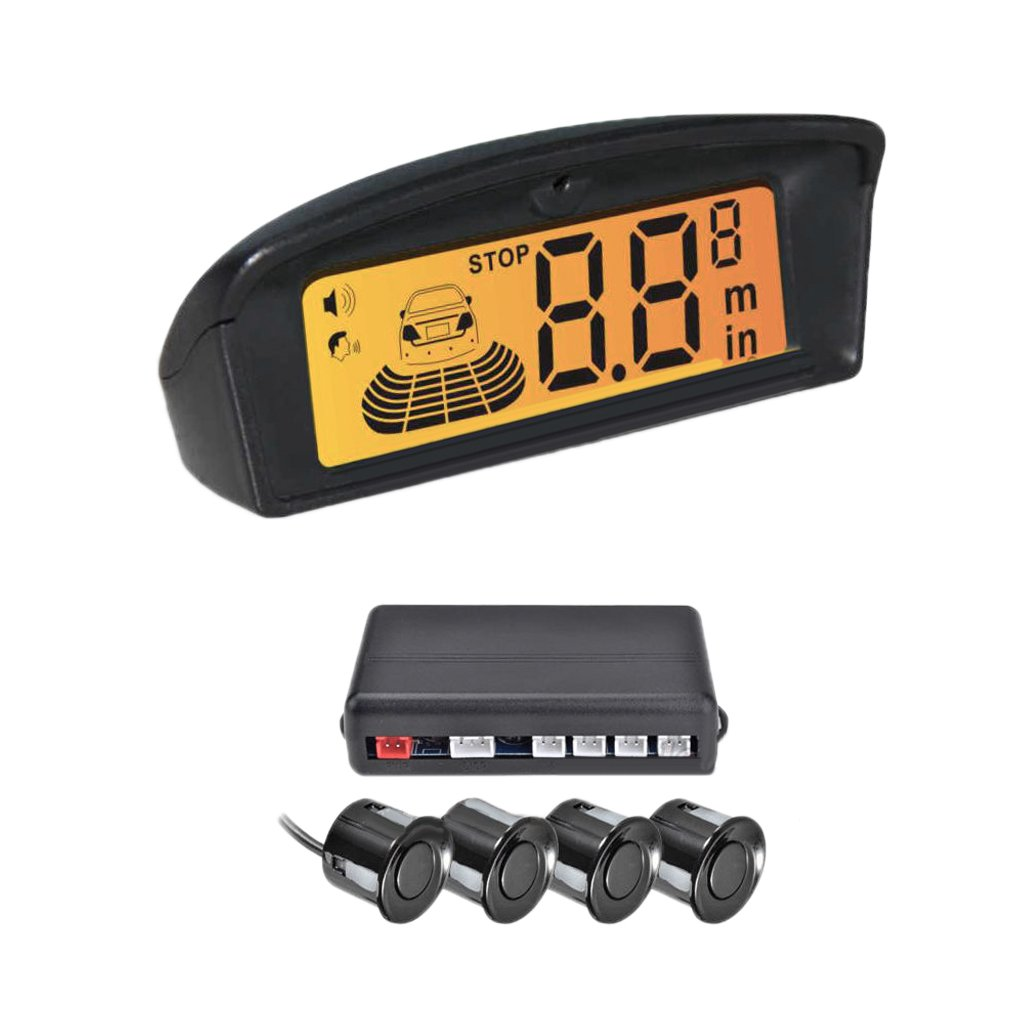 Sensor Trasero De Aparcamiento Crs Con Alarma Zumbador Precisa De Detectar