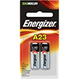 Energizer Zero Mercury Alkaline Batteries A23 2 ea