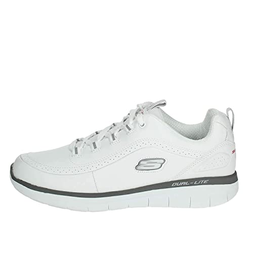 Skechers 52653/WGY Low Sneakers Man White 40: Amazon.co.uk ...