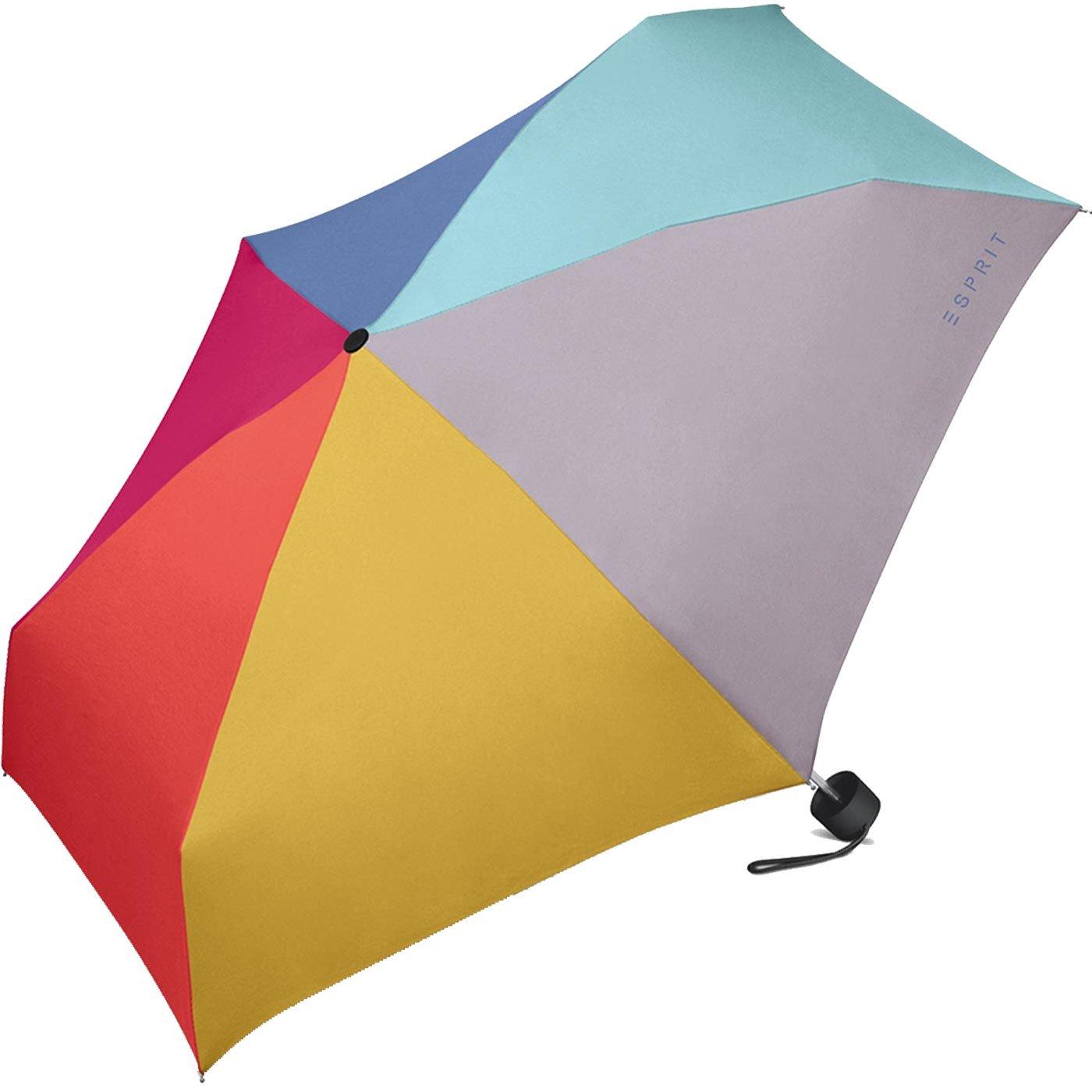ESPRIT Petito, Parapluie pliants multicolore Arc-en-ciel 93 cm