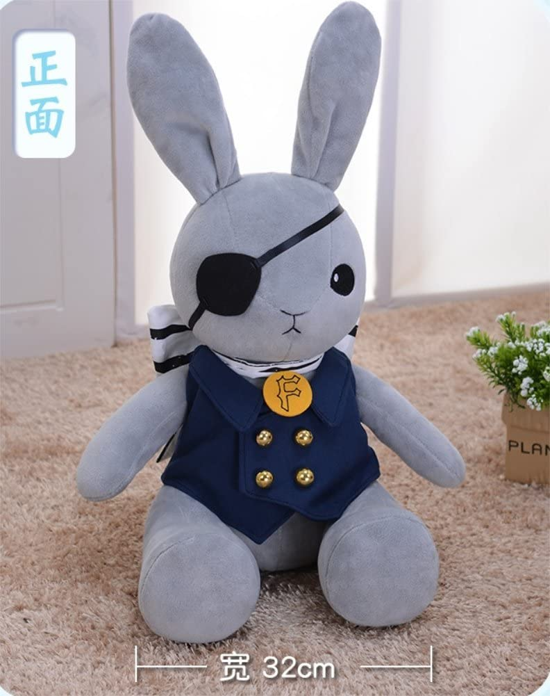 Black Butler Ciel Phantomhive Bou tyan Cute Pillow Plush Doll Double sided Toy