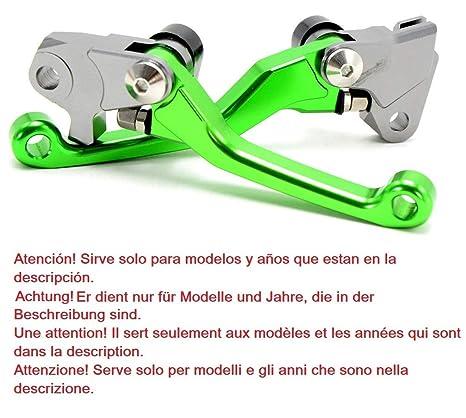 Motocicleta MX Motocross Enduro Trial juego de palancas manetas de freno y de embrague plegable para