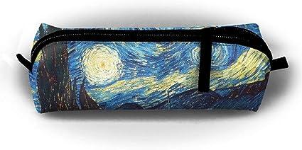 Tumblr Static Star Night Printing Pencil Case Pencil Bag Multi-Function Cosmetic Bag Zipper Box Office: Amazon.es: Oficina y papelería