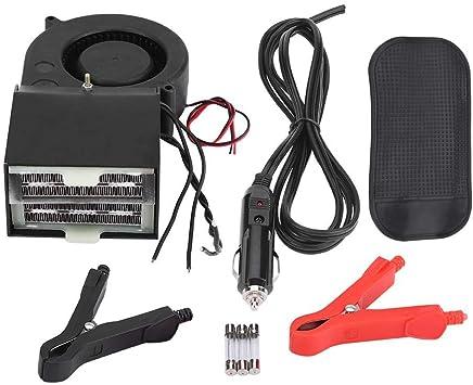 Equickment 12V//24V Car Ceramic Heater Fan Demister Portable Heating Warmer Defroster