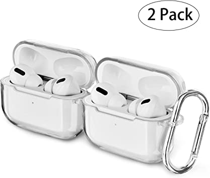 Amazon Com Airspo Airpods Pro Case Clear Airpods Pro Case Cover