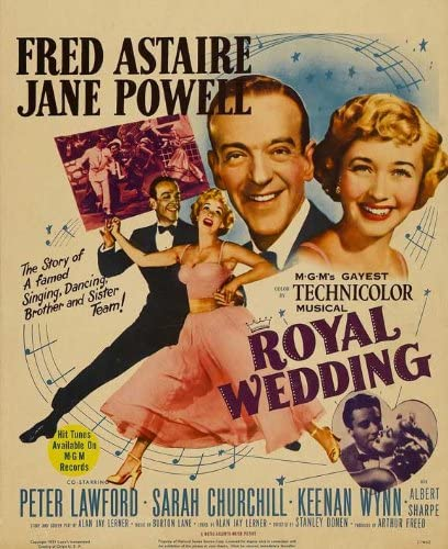 Amazon.com: Royal Wedding POSTER Movie (6 x 6 Inches - 6cm x ...